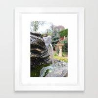 The British Waterfall Framed Art Print