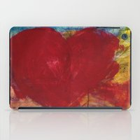 Blood Red Love iPad Case