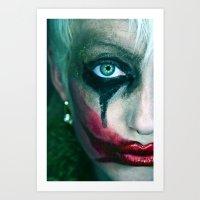 joker Art Prints featuring Joker by Imustbedead