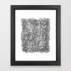 Desire For Nature Framed Art Print