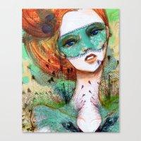 Vanity Verde Canvas Print