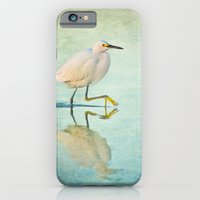 iPhone & iPod Case featuring Snowy Egret by JMcCool