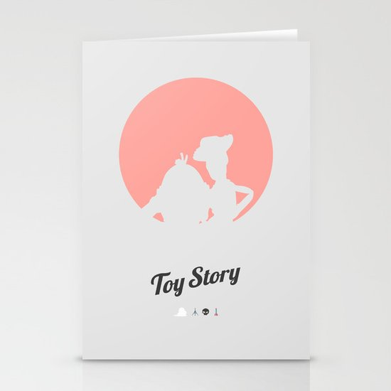 Toy Story - minimal poster Stationery Card