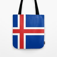 National flag of Iceland - Authentic Tote Bag