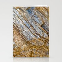 Stunning rock layers Stationery Cards