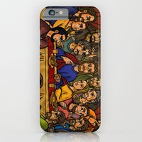 iPhone & iPod Case featuring JC: The Last Supper by Marcos Roy