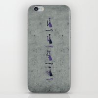 Forms of Prayer - White iPhone & iPod Skin