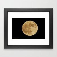 Our Raising Moon Framed Art Print