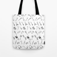 JUST THE WEAPONS Tote Bag