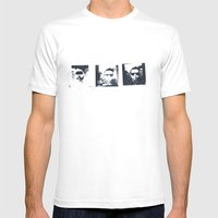 Art School Dropout Mens Fitted Tee White SMALL