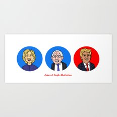 Election Art Print