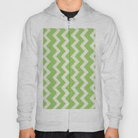 Crazy for Chevron - Lime Hoody