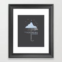 The Iceberg Lounge Framed Art Print