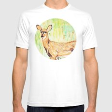 As A Deer Mens Fitted Tee White SMALL