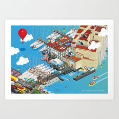 See Naples And Then Die! Art Print