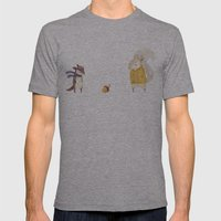 The Last Acorn Of Autumn Mens Fitted Tee Athletic Grey SMALL