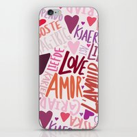Love Languages iPhone & iPod Skin