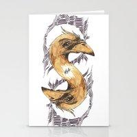 SAINT BIRD OF PARADISE  Stationery Cards