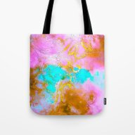 Curly Abstract Tote Bag