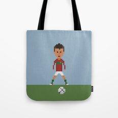 Ronaldo Free kick (Portugal) Tote Bag