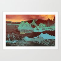Greetings from a Strange Land Art Print