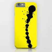 iPhone & iPod Case featuring STATIONERY CARD - Ink by Negative Space