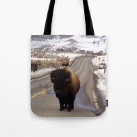 Montana Traffic Jam Tote Bag