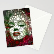 Marilin circles Stationery Cards