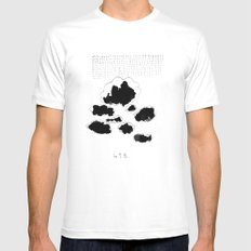 418 Mens Fitted Tee SMALL White