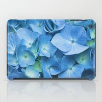 Blue Hydrangea iPad Case