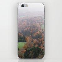 FOGGY SWITZERLAND iPhone & iPod Skin