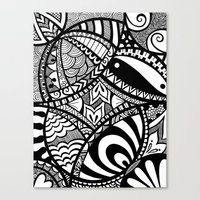 In The Tangle Canvas Print