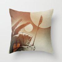 Fallen: I. Throw Pillow
