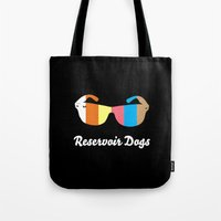 Minimal Reservoir Dogs Poster Tote Bag