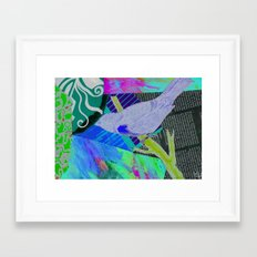 your bird can sing Framed Art Print