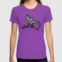 NOT MY CIRCUS Womens Fitted Tee Ultraviolet SMALL