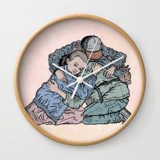 Stranger Things Hug Wall Clock