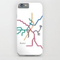 Boston Subway - The T iPhone 6 Slim Case
