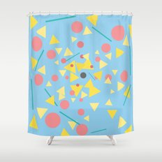 Chaos around you Shower Curtain