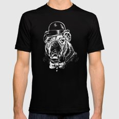 English Gentleman SMALL Mens Fitted Tee Black