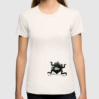 Eater Womens Fitted Tee Natural SMALL