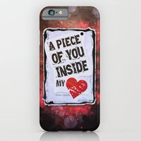 iPhone & iPod Case featuring A piece of you inside my heart by ys7ven