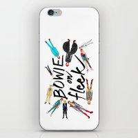BOWIE on Fleek iPhone & iPod Skin