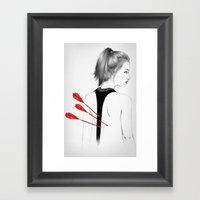 Back Stabbers III Framed Art Print