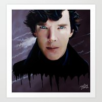 Criminal Fascination Art Print