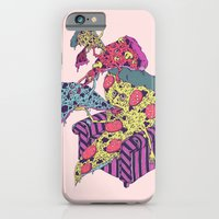 Pizza Eating Pizza - Pink Edition iPhone 6 Slim Case