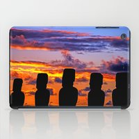 TOUCHED BY FIRE iPad Case