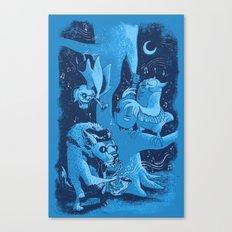 Children of the Night Canvas Print