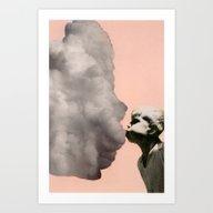 Exhalation Art Print