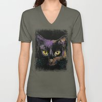 Shadow Cat Unisex V-Neck